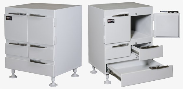 marshield lead lined cabinets