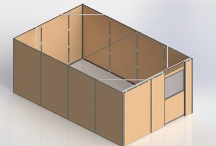 marshield lead lined modular room