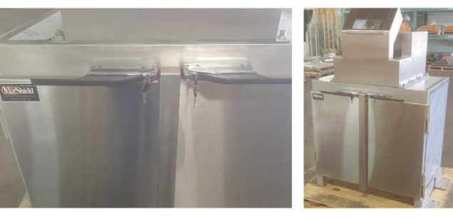 MarShield custom cabinet